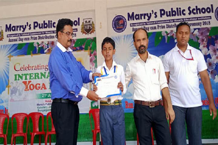 Marrys Public School-Achievment