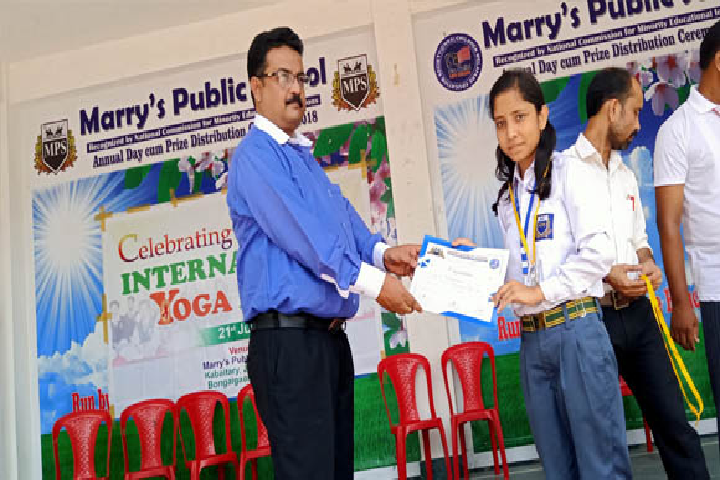 Marrys Public School-Appreciation