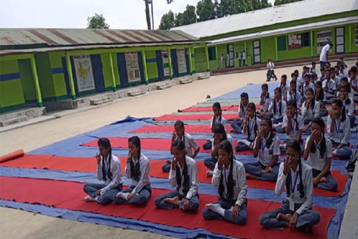 Marrys Public School-Yoga Day