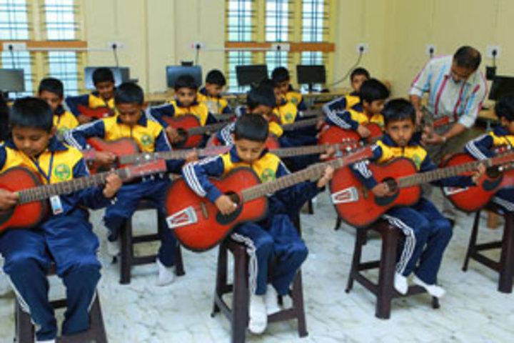 Montfort School-Music Room