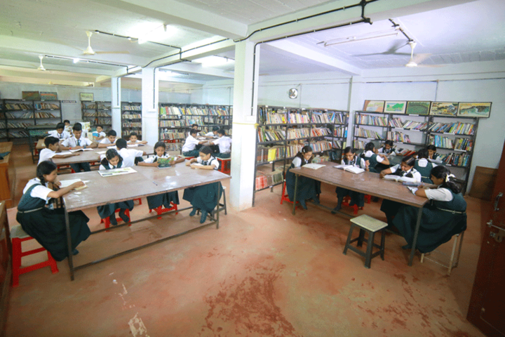 Mother India International Residential Public School-Library