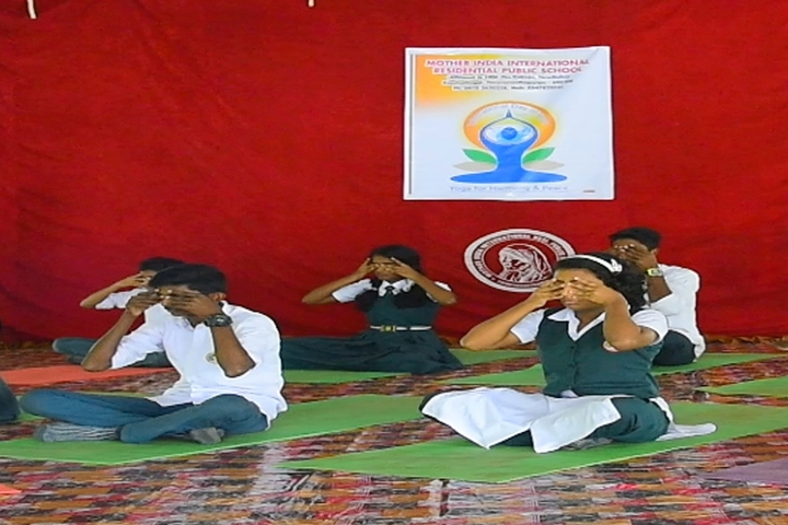 Mother India International Residential Public School-Yoga