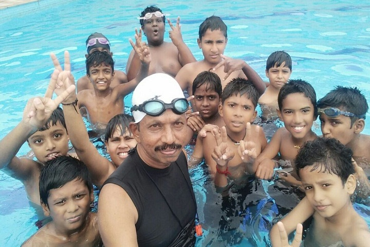 Mother India International Residential Public School-Swimming-Pool