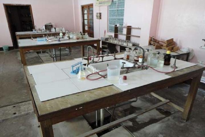 Modern High School- Chemistry Lab