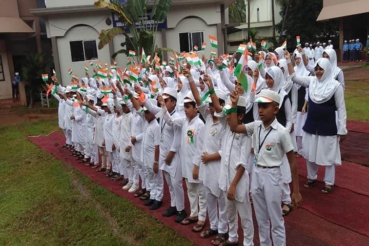 Mujamma English Medium School-Independance Day