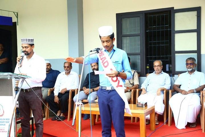 Mujamma English Medium School-Investiture Ceremony
