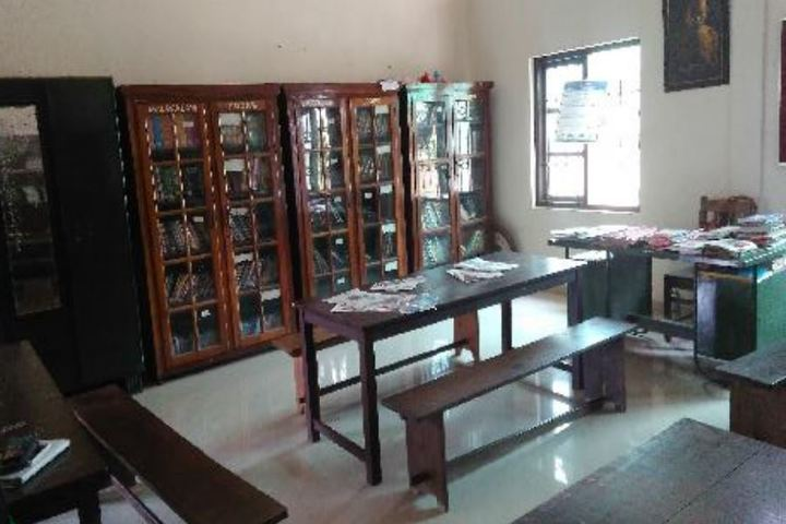 Mujamma English Medium School-Library