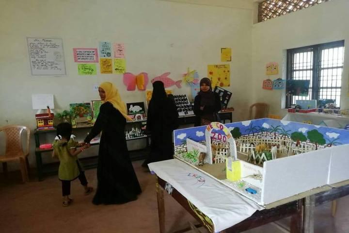 Mujamma English Medium School-School Exhibition