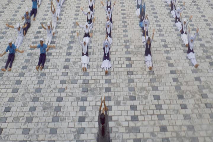 Mujamma English Medium School-Yoga Activity