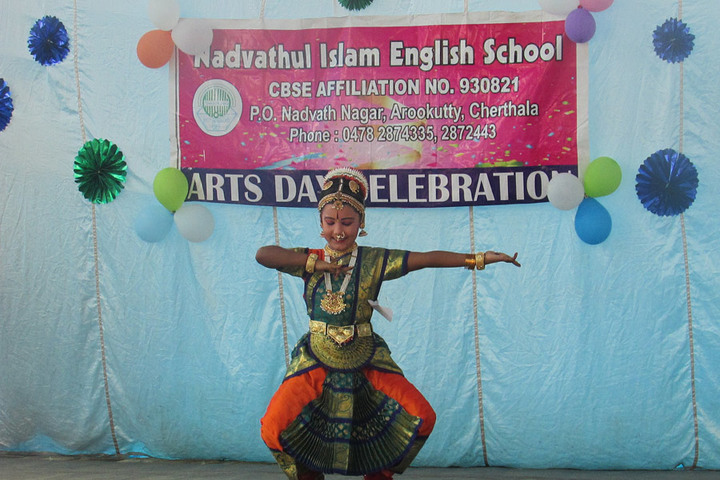 Nadvathul Islam English School-Art Day Celebration