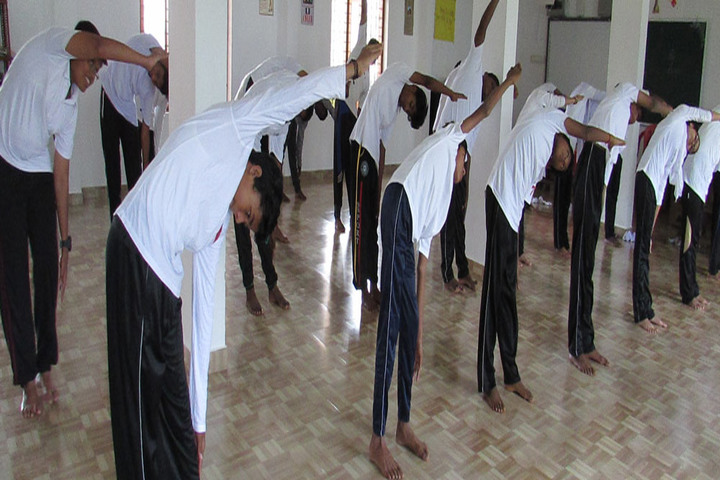 Nadvathul Islam English School-Yoga