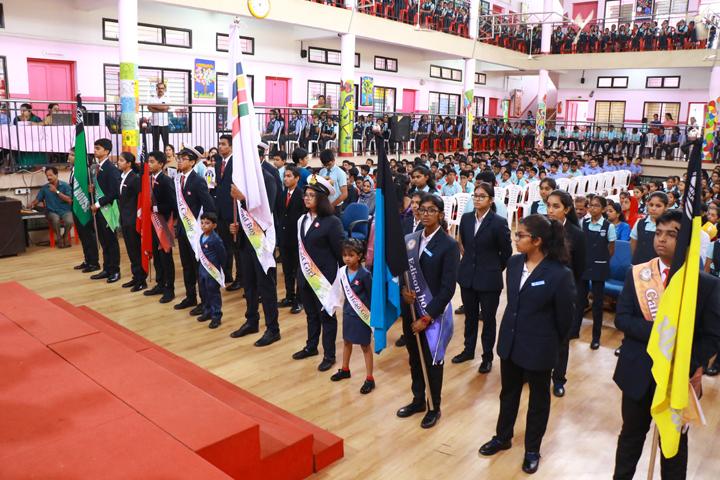 Naipunya Public School-Investiture Ceremony