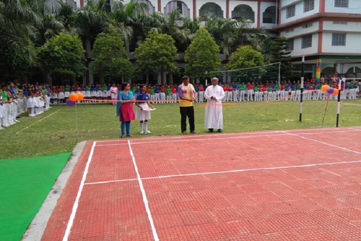 Montfort School- Badminton Court