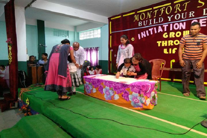 Montfort School- Initiation Day