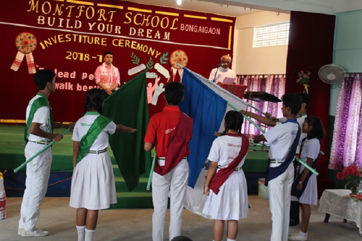 Montfort School- Investiture Ceremony