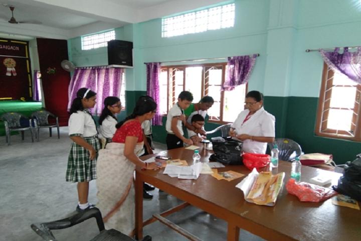 Montfort School- Medical Camp