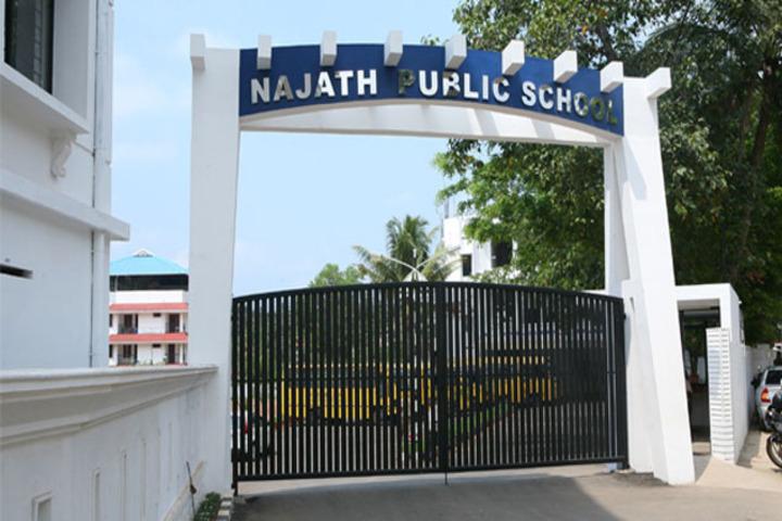 Najath Public School-School Front View