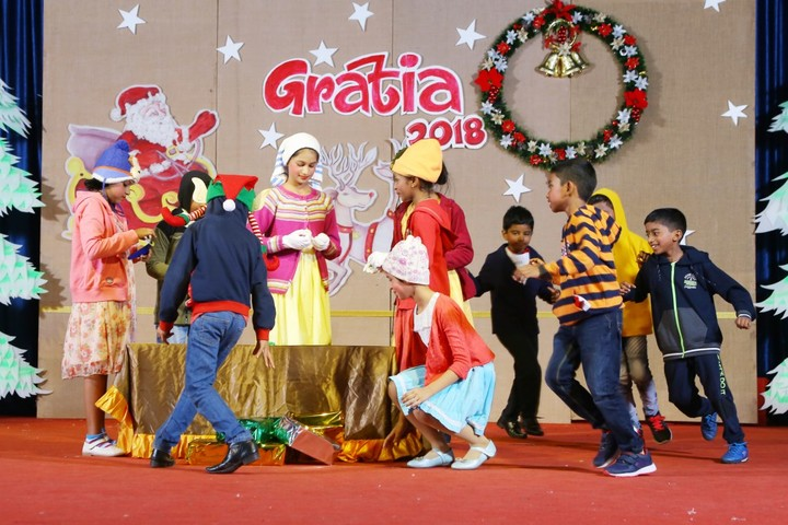 Nava Nirman Public School-Christmas Celebrations