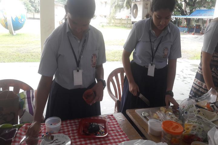 Navy Children School-Food Fest