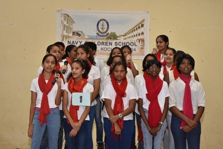 Navy Children School-Music Activity