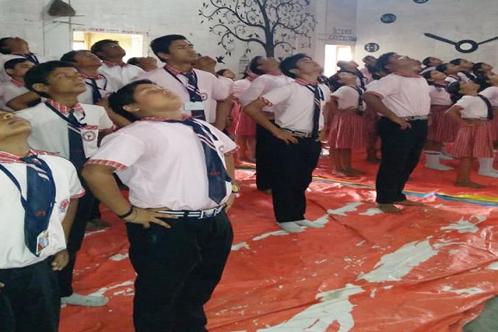 Nabaroon Public School- Yoga