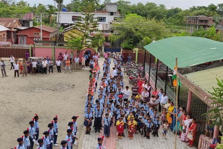 Nalanda Public School-Independence Day