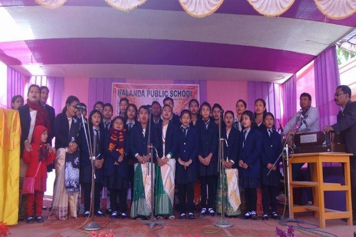 Nalanda Public School-Singing