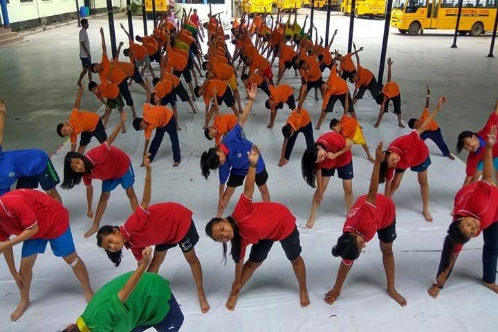 NPS international School- Yoga