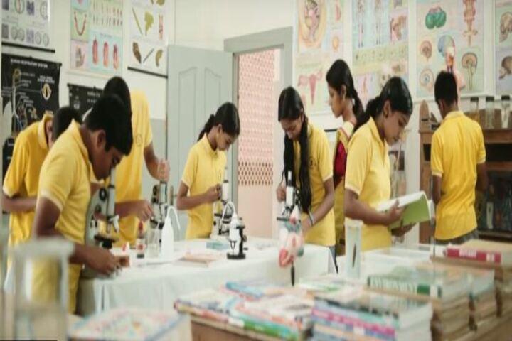 Prabhat Residential Public School-Biology Lab