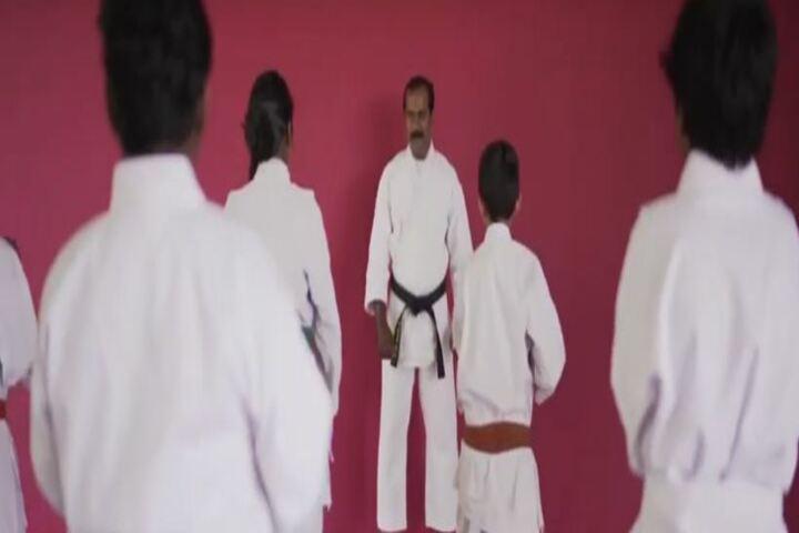 Prabhat Residential Public School-Karate Classes