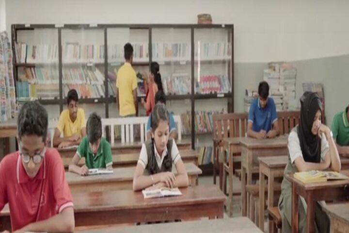 Prabhat Residential Public School-Library