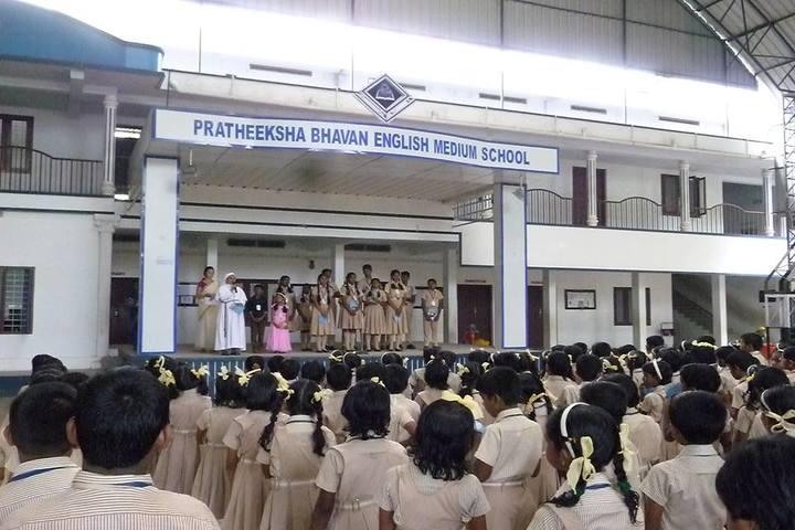 Pratheeksha Bhavan English Medium School-Assembly