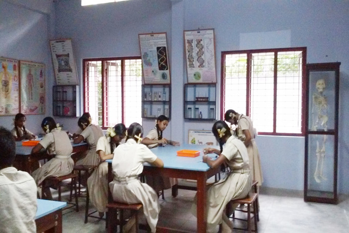 Pratheeksha Bhavan English Medium School-Biology Lab