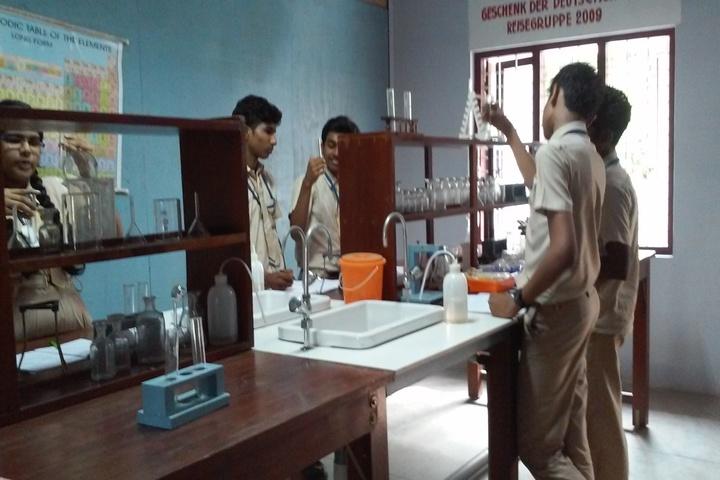 Pratheeksha Bhavan English Medium School-Chemistry Lab