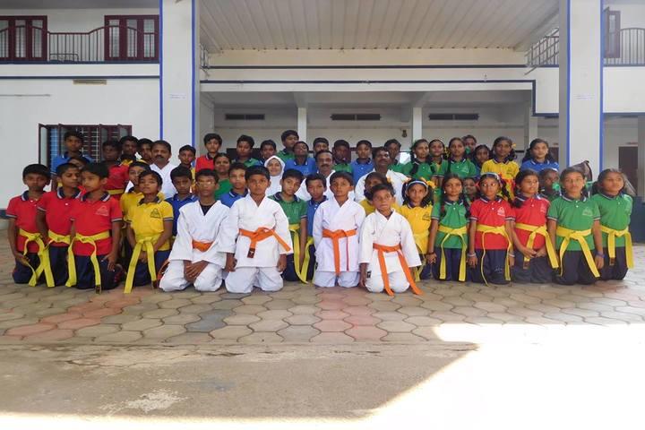 Pratheeksha Bhavan English Medium School-Karate