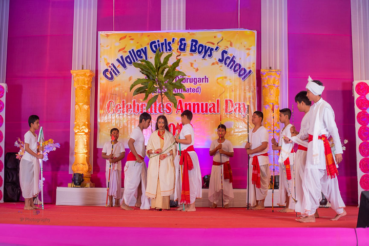 Oil Valley Girls and Boys School-Skit