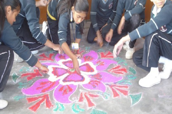 Our Abc Academy- Rangoli Competition
