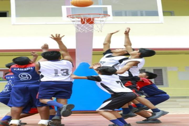 S D V English Medium Higher Secondary School-Basket Ball Court