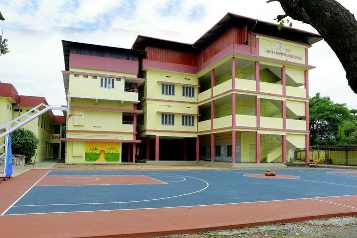 S D V English Medium Higher Secondary School-Playground