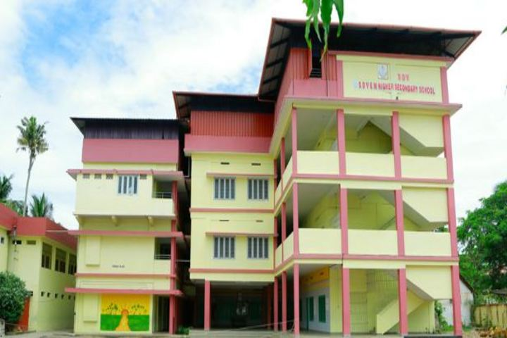 S D V English Medium Higher Secondary School-School Building