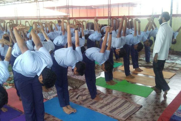 S D V English Medium Higher Secondary School-Yoga