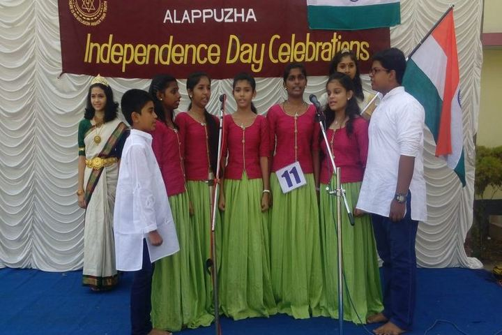 S D V English Medium Higher Secondary School-singing