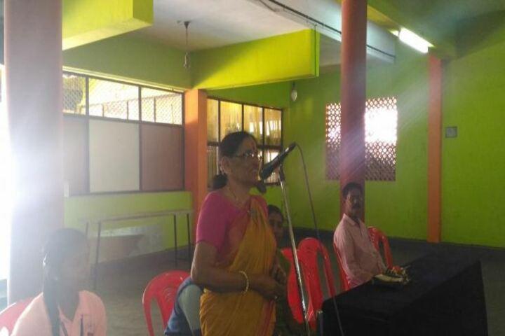S N S Samajam Vidya Mandir-Speech