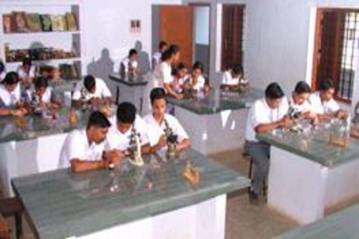 S N Vidya Bhavan Senior Secondary School-Biology lab