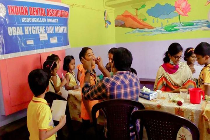 S N Vidya Bhavan Senior Secondary School-Dental checkup
