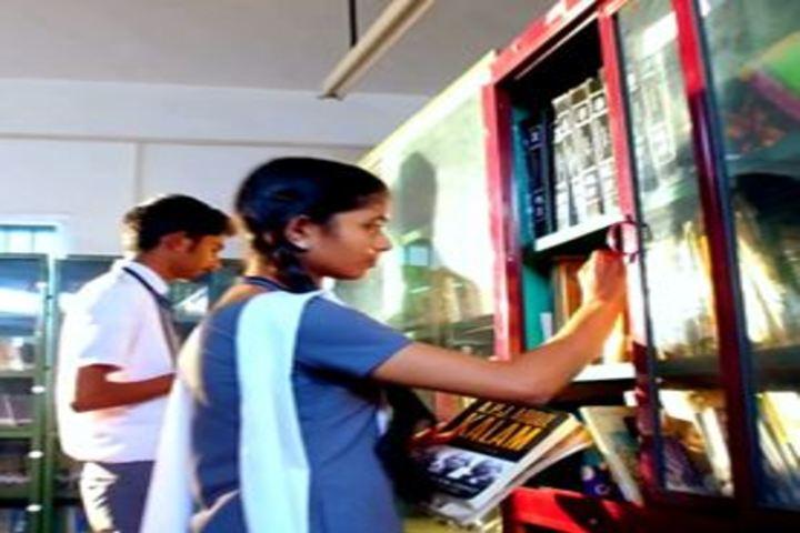 S N Vidya Bhavan Senior Secondary School-Library