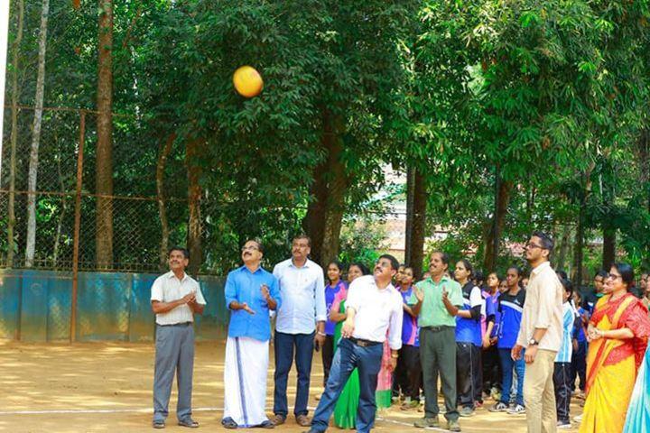 S N Vidya Bhavan Senior Secondary School-Throw ball