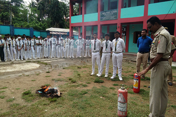 Iqra public school - Fire safety exercise