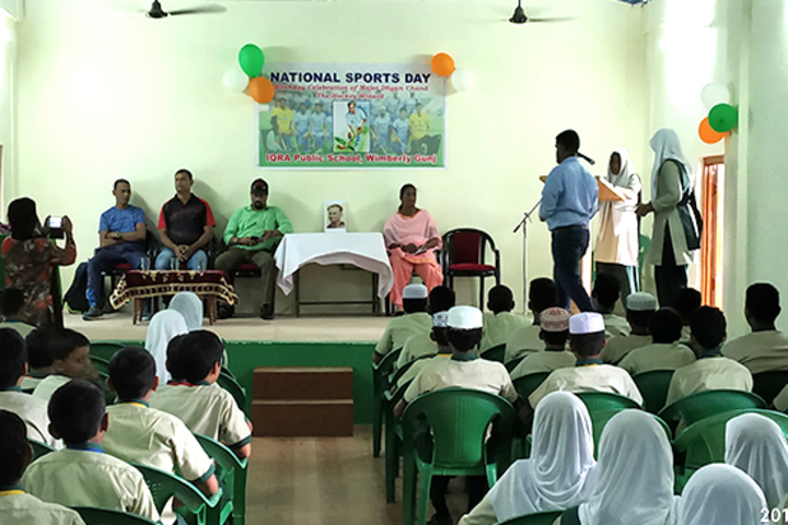 Iqra public school - National sports day