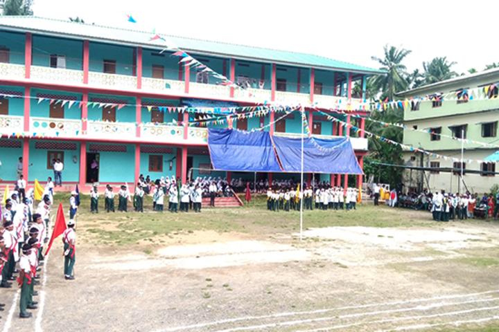 Iqra public school - play ground